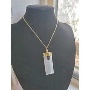 Jewelry - Selenite Gorgeous Necklace NWOT Last 1